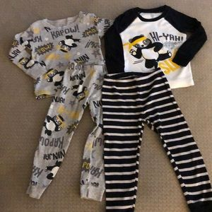 2 pack just one you by carters pajama set size 2T